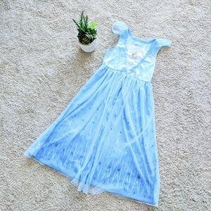 Girls Elsa Blue Nightgown